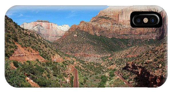 206p Zion National Park IPhone Case