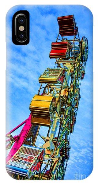 Funfair iPhone Case - Zipper by Olivier Le Queinec