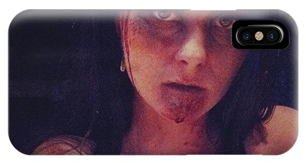 Holiday iPhone Case - #zombie #evildead #ilovehalloween by Mandy Shupp