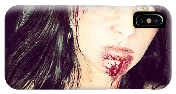 Nerd iPhone Case - #zombie #ilovehalloween #walkingdead by Mandy Shupp