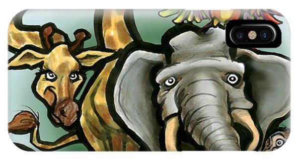 Zoo Animals IPhone Case