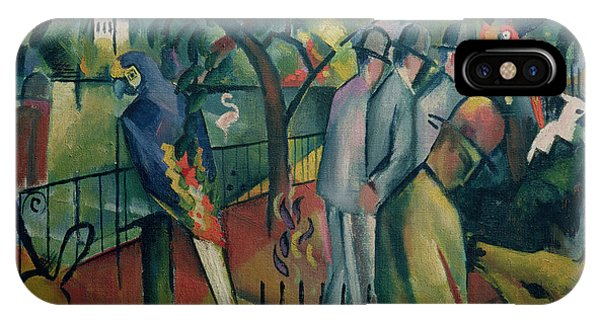 Zoological Garden I, 1912 Oil On Canvas IPhone Case