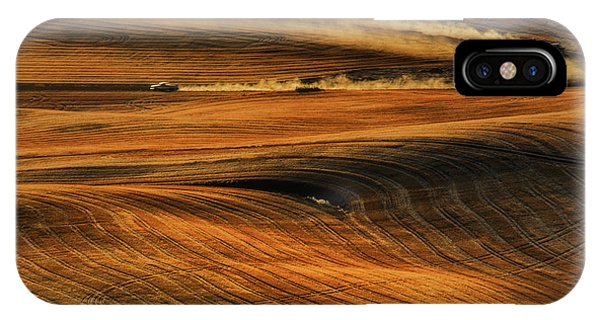 Farmland iPhone Case - Zoom by Lydia Jacobs