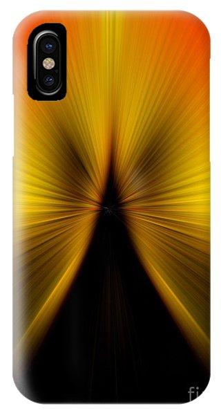 Zoom Orange Yellow IPhone Case