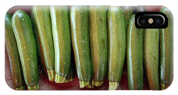 Cultivar iPhone Case - Zucchinis by Olivier Le Queinec