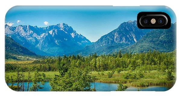 Zugspitze IPhone Case