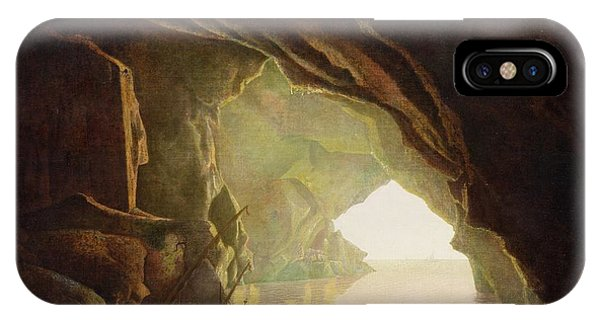 A Grotto In The Gulf Of Salerno - Sunset IPhone Case