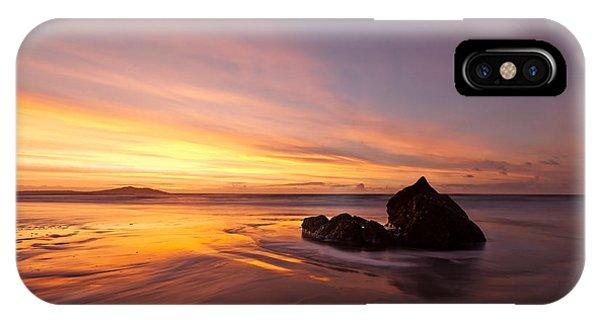 Atomic Sunset IPhone Case