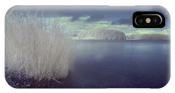Infrared At Llyn Brenig IPhone Case