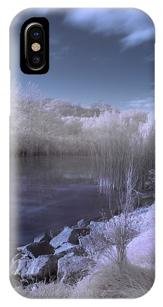 Infrared Pond IPhone Case