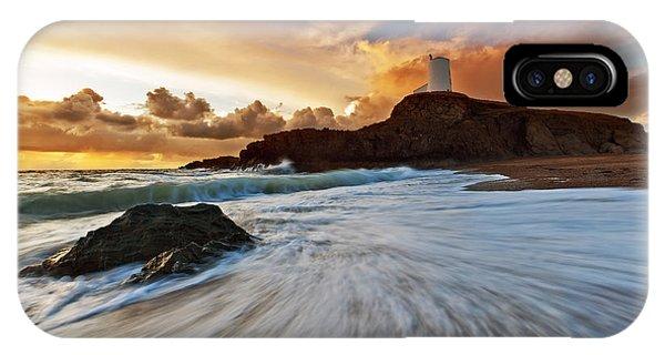 Llanddwyn Island Lighthouse IPhone Case
