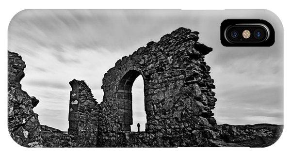 Llanddwyn Island Ruins IPhone Case