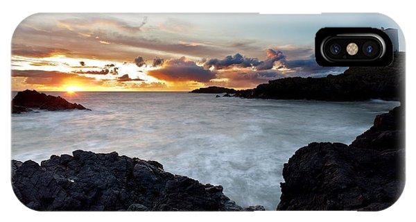 Llanddwyn Island Sunset IPhone Case