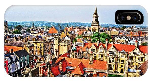 Oxford Cityscape IPhone Case