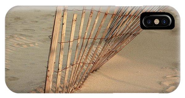 Sandy Beach Fence IPhone Case