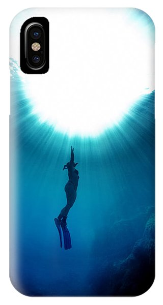 The Freediver IPhone Case