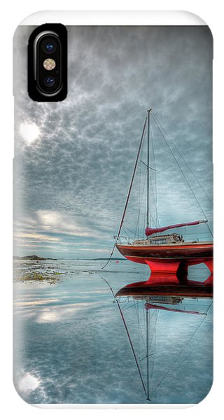 Waiting For The Tide IPhone Case