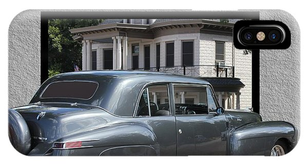 1947 Lincoln Continental Coupe IPhone Case