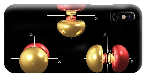 3p Electron Orbitals Phone Case by Dr Mark J. Winter