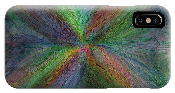 Purple Rain iPhone Case - After The Rain 3 by Tim Allen