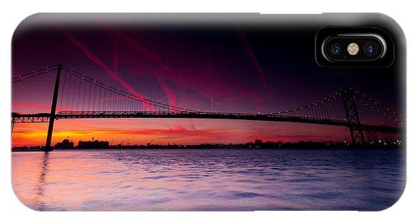 Ambassador Bridge IPhone Case