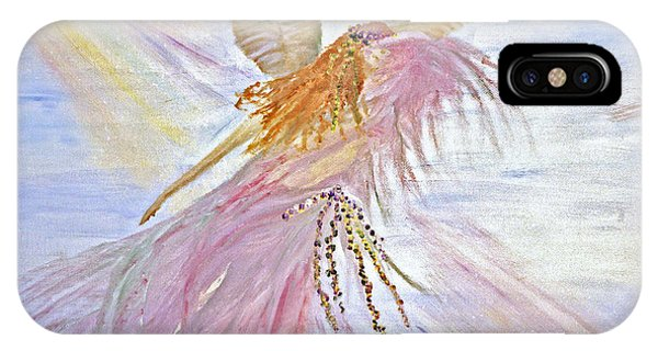 Angel-keeper Of The Rainbow IPhone Case