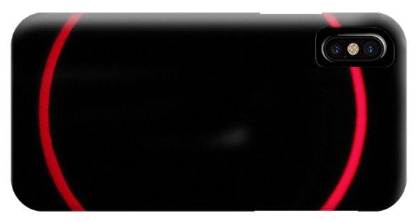 Annular Solar Eclipse Phone Case by Laurent Laveder