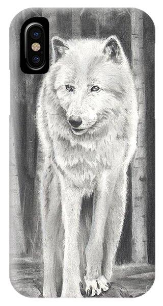 Arctic Wolf IPhone Case