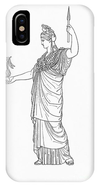 Athena, Greek Goddess IPhone Case