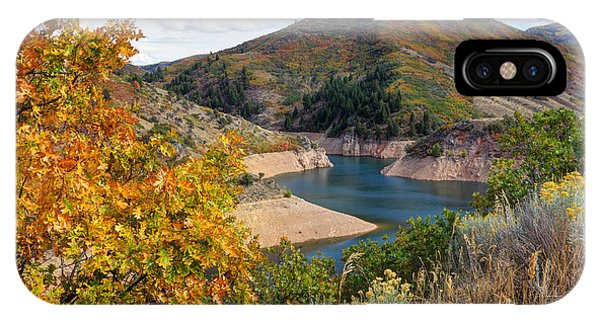 Autumn At Causey Reservoir - Utah IPhone Case