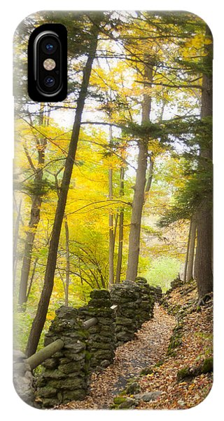Autumn Hike IPhone Case