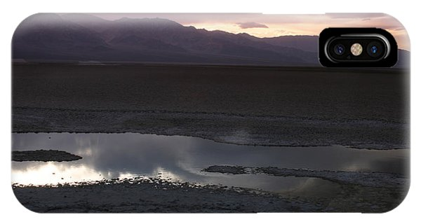Badwater Basin Death Valley National Park IPhone Case