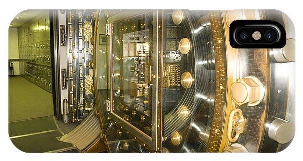 Bank Vault Interior Phone Case by Adam Crowley