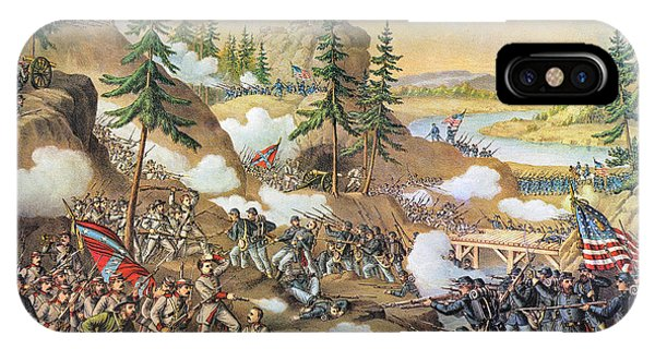 Allison iPhone Case - Battle Of Chattanooga 1863 by Granger