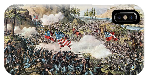 Allison iPhone Case - Battle Of Chickamauga 1863 by Granger