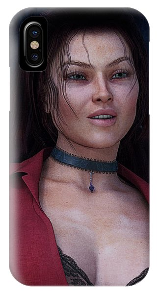 Beautiful Portrait IPhone Case