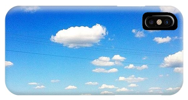 Sunny Days iPhone Case - #beautiful #sunny #day . #clouds by Kelsey Parisien
