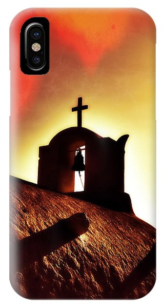 Greece iPhone Case - Bell Tower by Joana Kruse