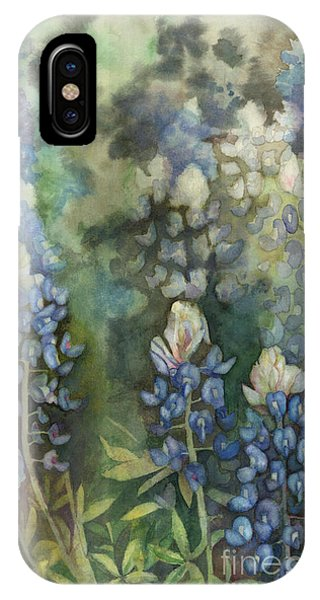 Bluebonnet Blessing IPhone Case