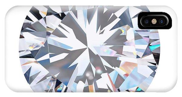 Wedding Gift iPhone Case - Brilliant Diamond by Setsiri Silapasuwanchai