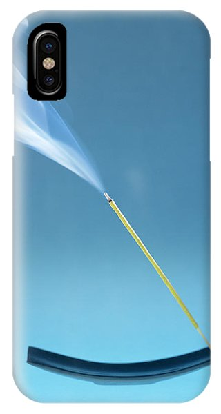 Burning Incense Phone Case by Lawrence Lawry