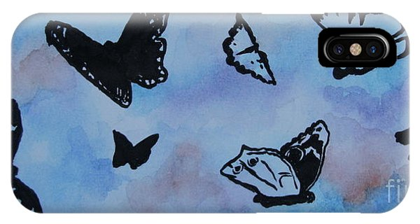 Chasing Butterflies IPhone Case