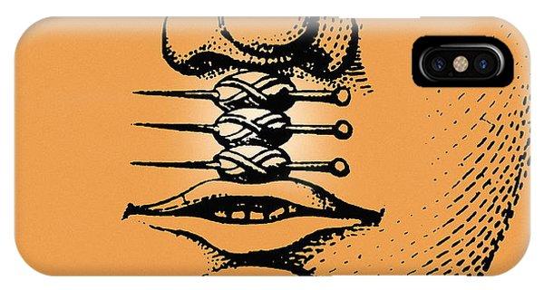 Cleft Lip Phone Case by Mehau Kulyk