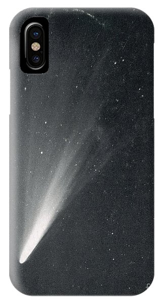 Luminous Body iPhone Case - Comet West, 1976 by Science Source