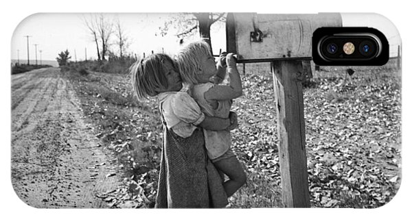 Depression Era Rural America IPhone Case