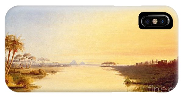 Ibis iPhone Case - Egyptian Oasis by John Williams