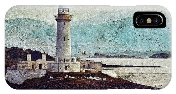 Eilean Musdile Lighthouse  IPhone Case