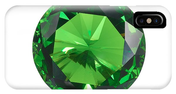 Emerald Isolated IPhone Case