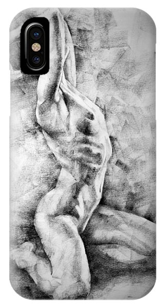 Erotic Sketchbook Page 3 IPhone Case