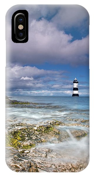 Fishing By The Lighthouse IPhone Case